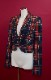 Vintage Check Tailored Jacket(red)