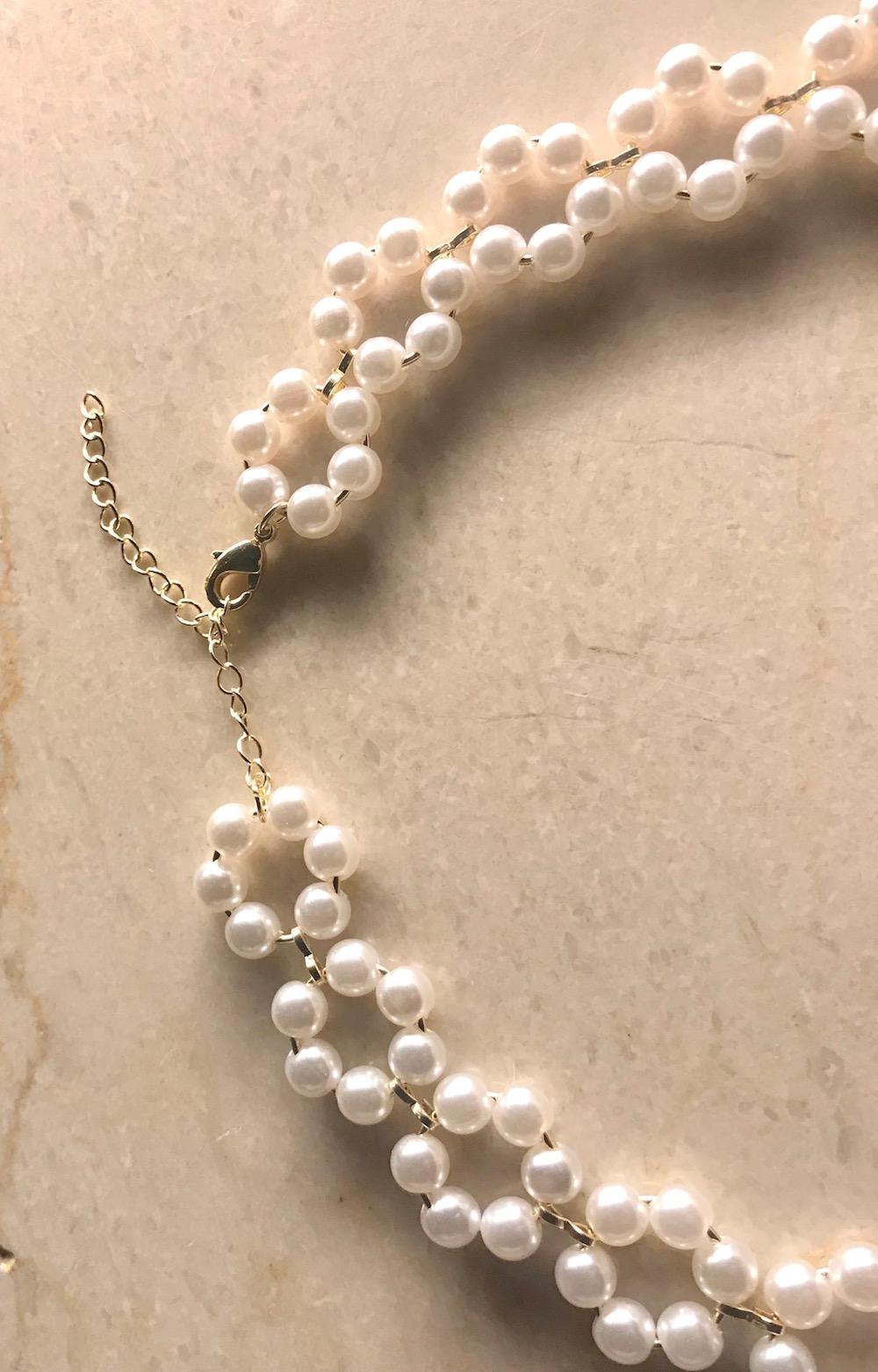 Pearl Flower Choker