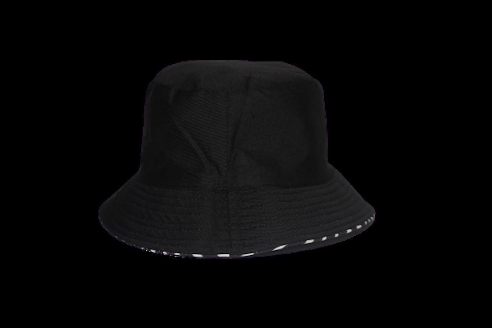 Reversible Zebra Bucket Hat
