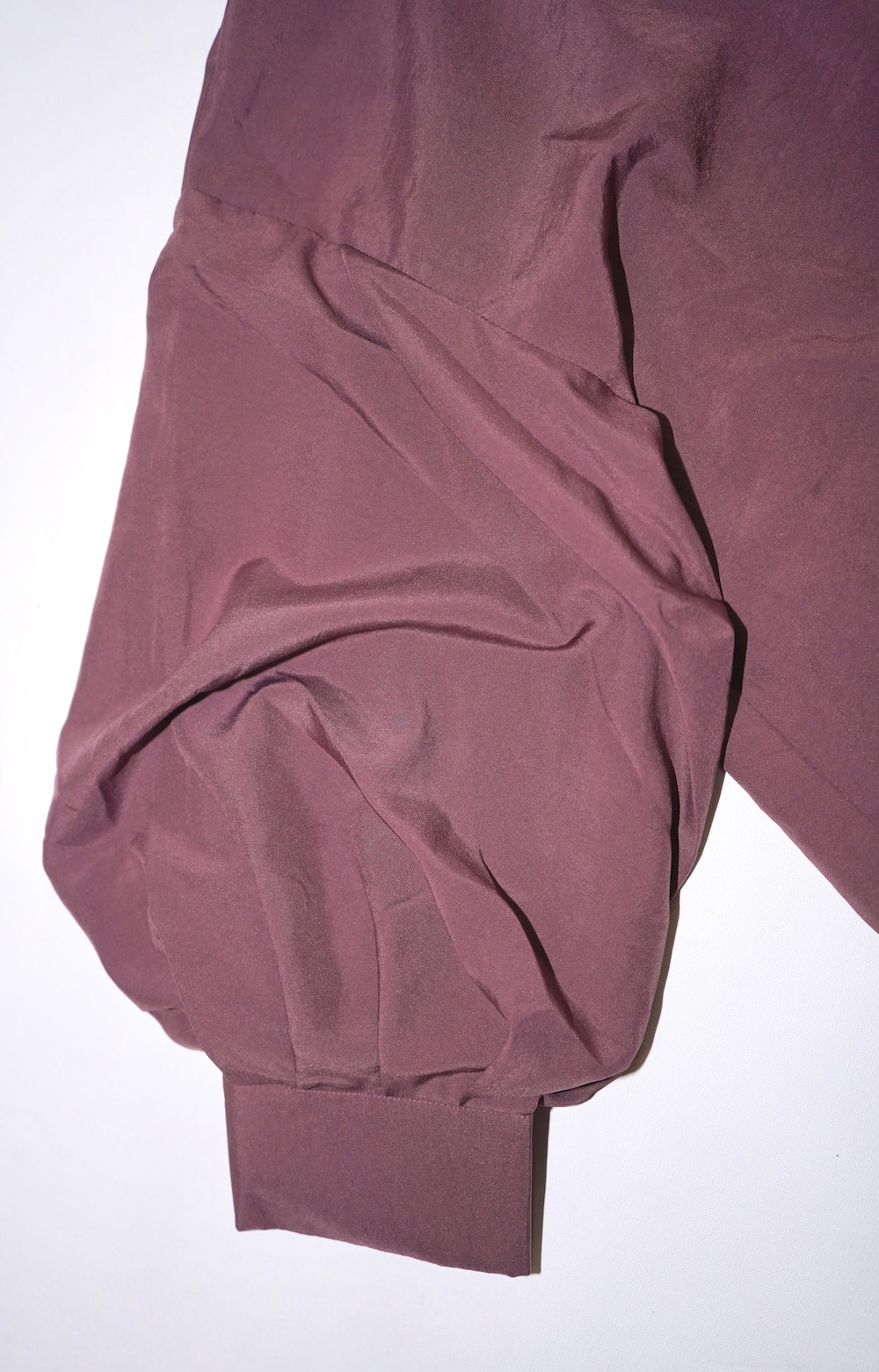 Balloon Sleeve Loose Fit Shirts (dusty purple)