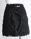 White Stitch Black Denim Jacket&Skirt 2P SETUP
