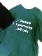 """A.D.G"" BM-LOGO BIG TEE (green)"