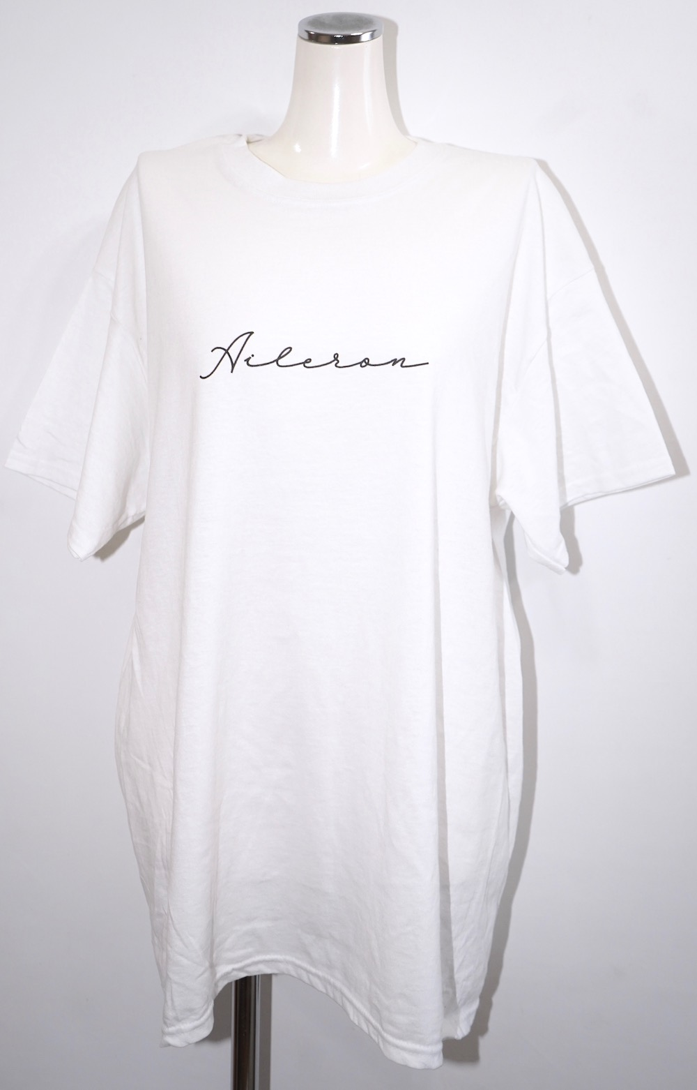 """A.D.G"" BACK WING BIG TEE (white)"