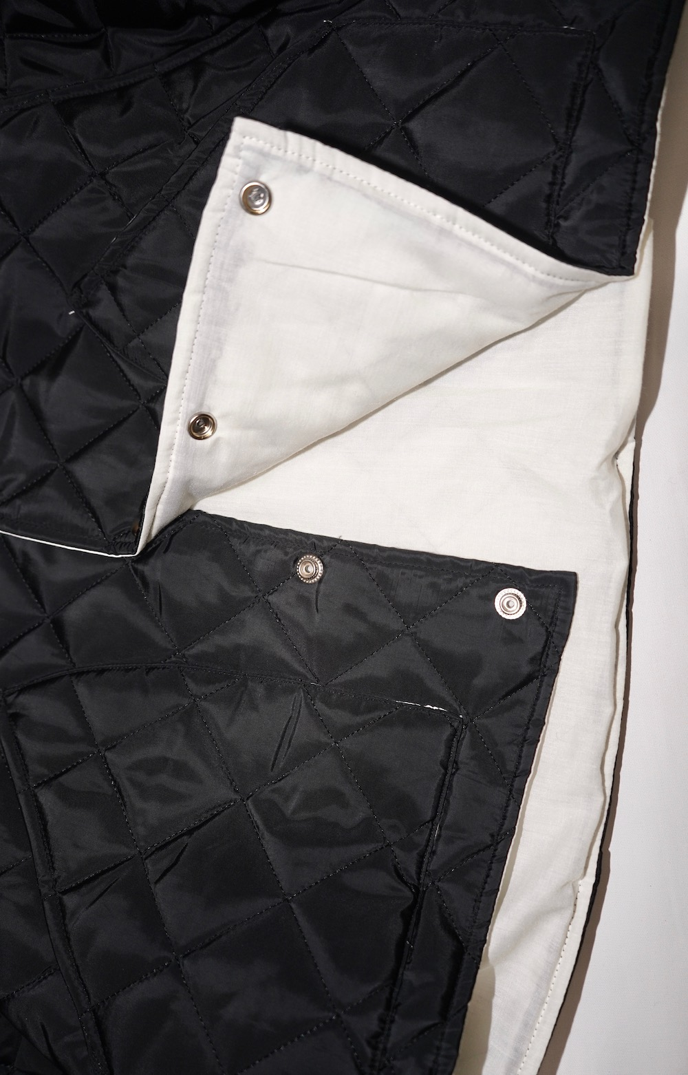 Padding Quilting Jacket (black)