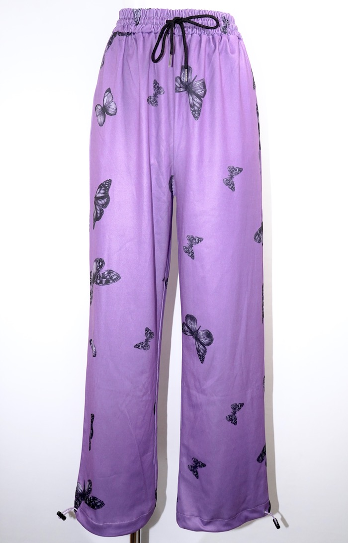 Butterfly Harem Pants (purple)