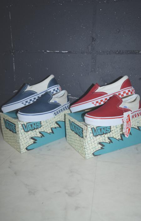 (全2色)VANS CHECK-SOLE SLIP ON