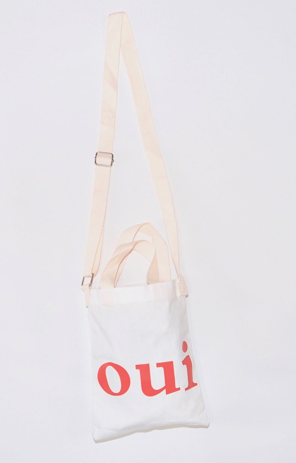 """oui"" Logo Shoulder Bag"