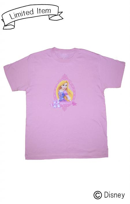 ※残りわずか【Disney Princess】T-shirts(Rapunzel)