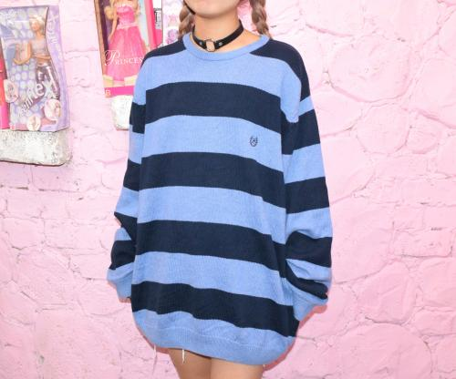 """CHAPS"" Ralph Lauren Big Knit Sweater(Bluetone)"