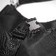 2strap 2way Nylon Half-moon Bag (black)