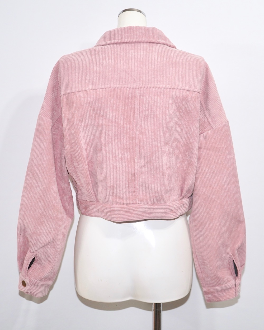 Corduroy Jacket+Skirt 2P SET UP (light pink)