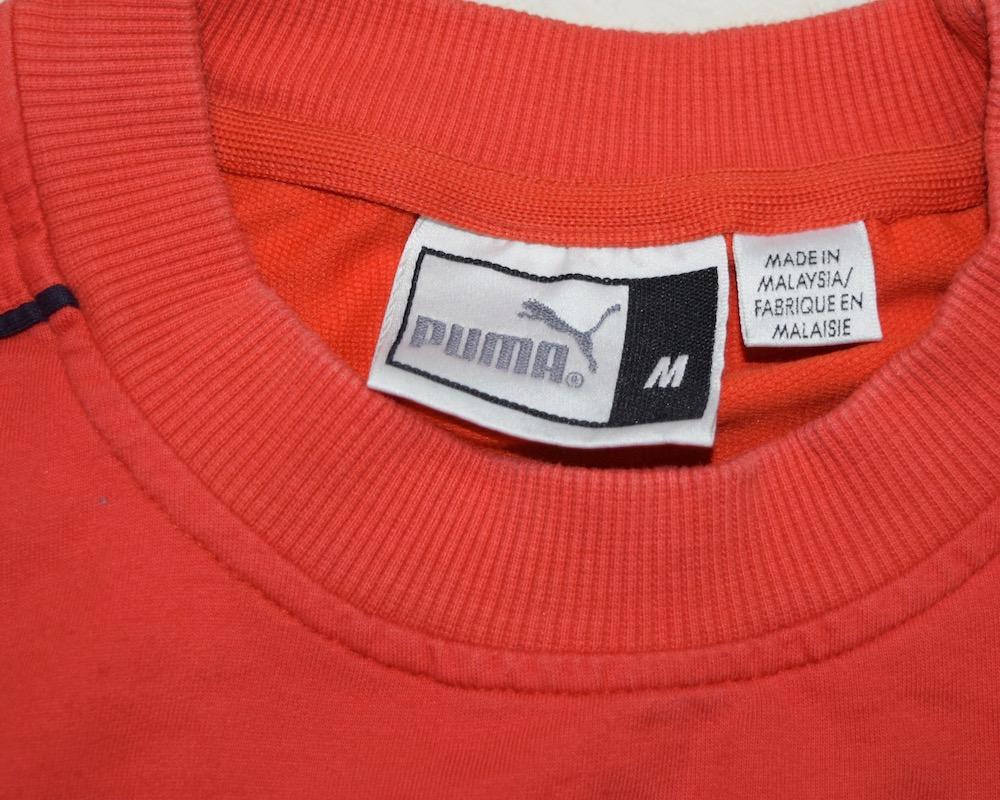 """PUMA""LINE SLEEVE 1P LOGO BIG TEE(RED)"