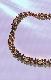 Heart&Ribbon Choker Necklace (gold)