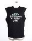 Logo Sleeveless T-shirts (black)