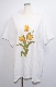 Yellow Tulip Big T-shirts (white)