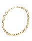 Gold Ring Chain Choker