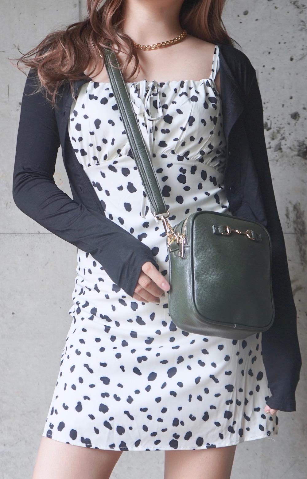Dalmatian Cami-Onepiece (white)