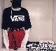 """(全2色)""""VANS"""" STANDARD LOGO BIG T-SHIRT"""