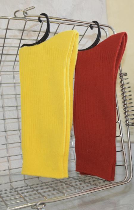 (全2色)COLOR PLAIN RIB SOCKS