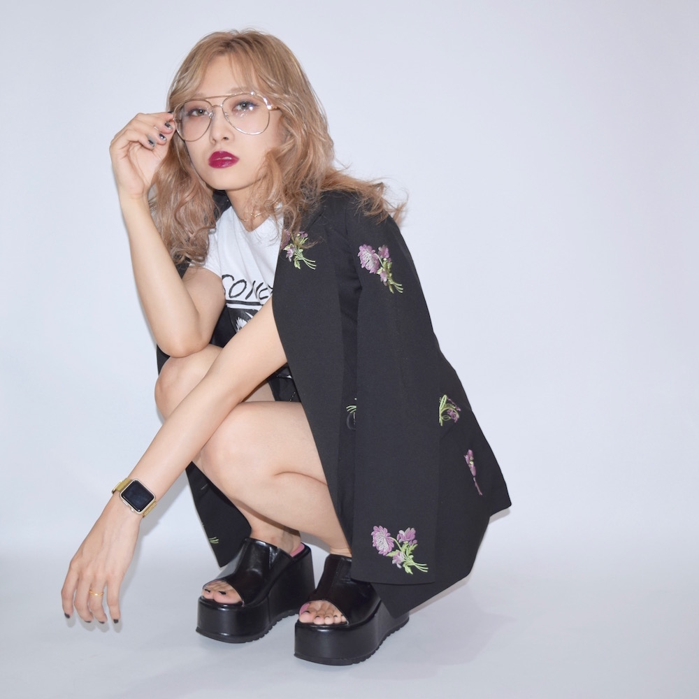 FLOWER EMBROIDERY JACKET+PANTS 2P SET