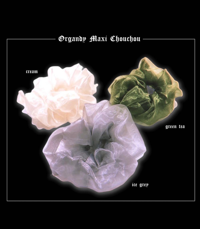 (全4色) Organdy Maxi Chou Chou