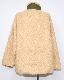 Reversible Boa Jacket Coat (khaki green)