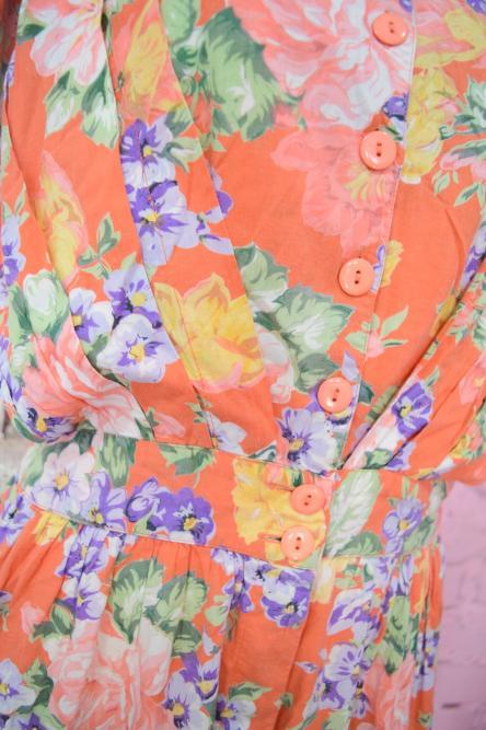 Flower Pattern Jumpsuit(ORG)