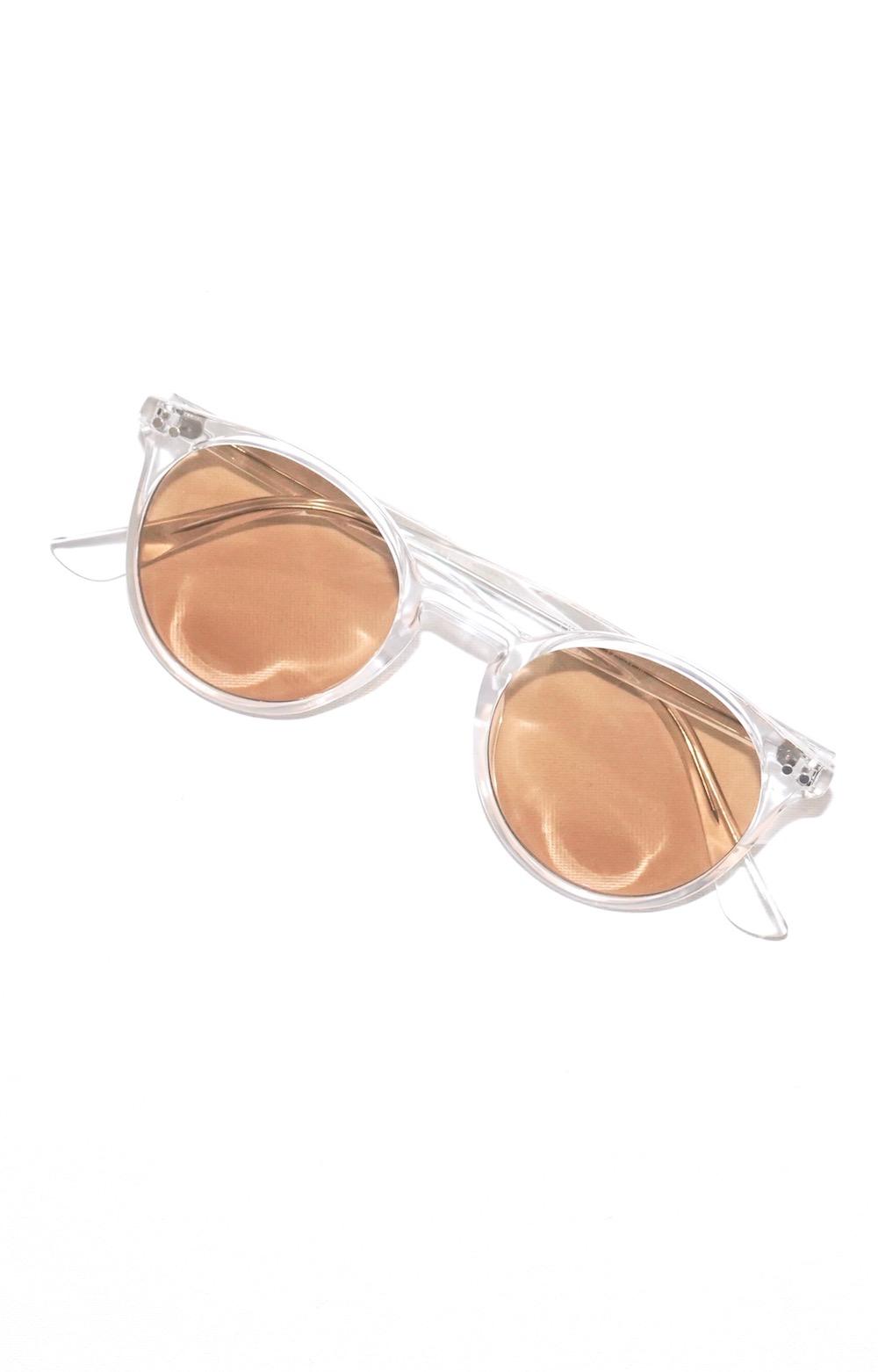 Clear Flame Boston Sunglass (brown-clear)