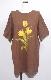 Yellow Tulip Big T-shirts (brown)