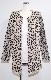 Animal Knit Long Cardigan (light beige)
