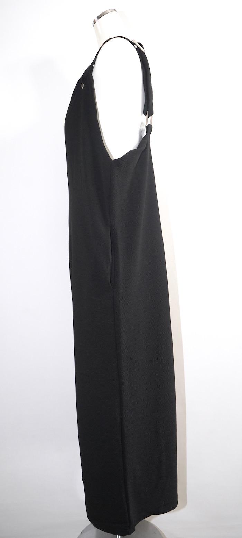 Wide Easy Salopette Pants (black)