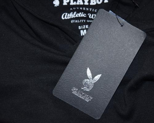 """PLAYBOY"" 1point Logo Hoodie(BLK)"