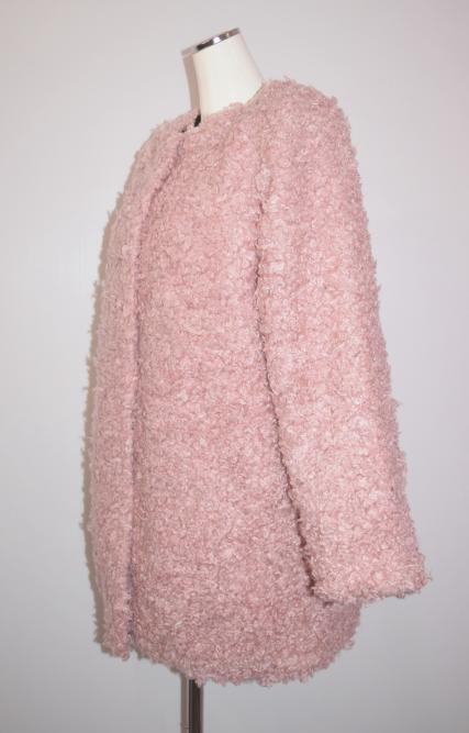 (全3色)Poodle Boa Long Coat