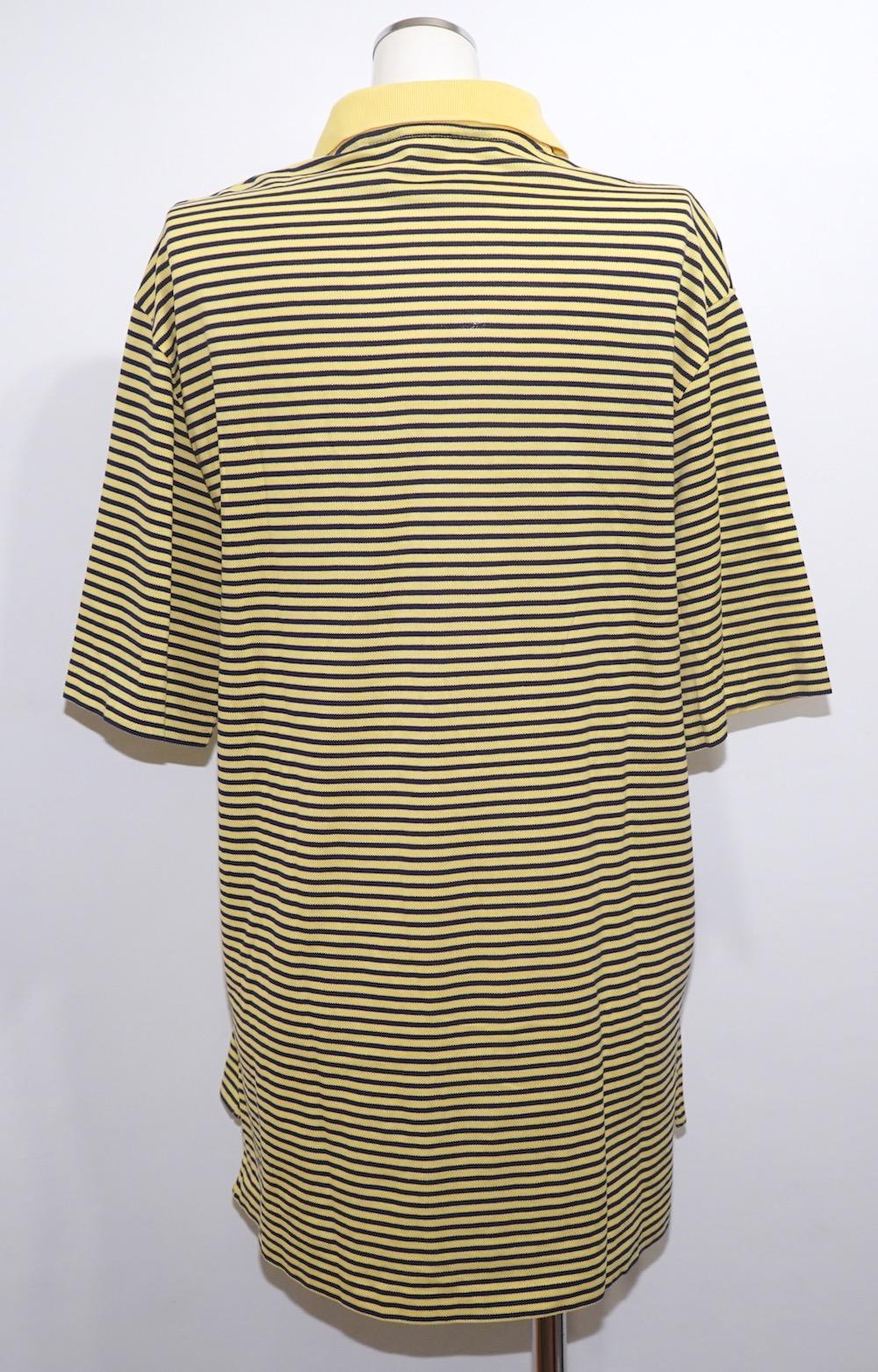 """Ralph Lauren"" Border Polo Shirts (yellow/black)"
