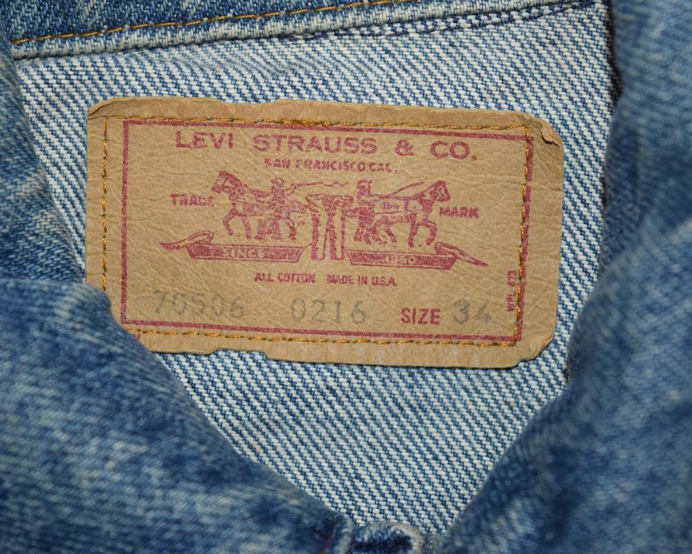 "【WEB限定】""Levi's""  Denim Jacket(BLUE)"