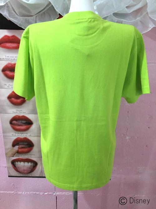 《雑誌掲載》【101Dalmatians】T-shirts(LIME GREEN)