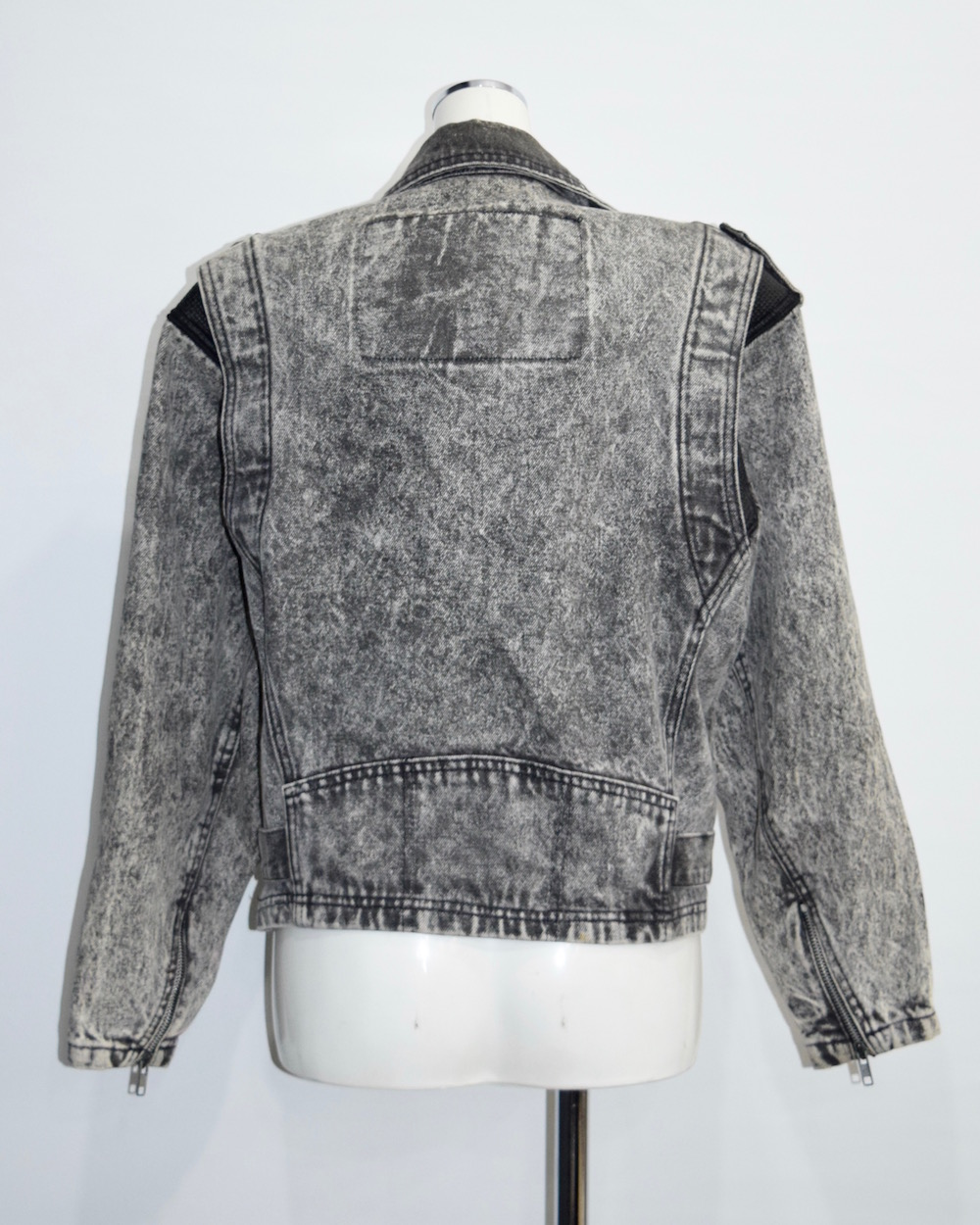 """Levi's"" Black Denim Big Riders Jacket"