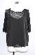 Sheer Tops+Camisole 2P SET (black)