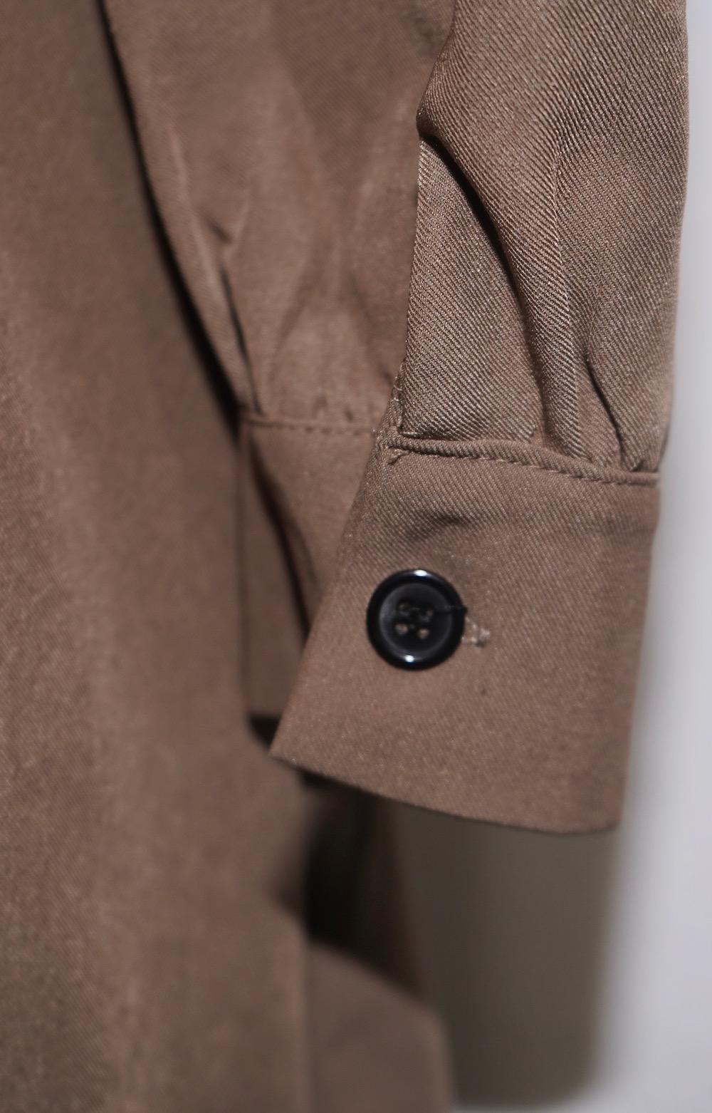 Wrap Design Mini-Onepiece (dark beige)