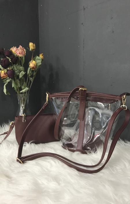 Clear Basket Bag(BRD)*ポーチ付き