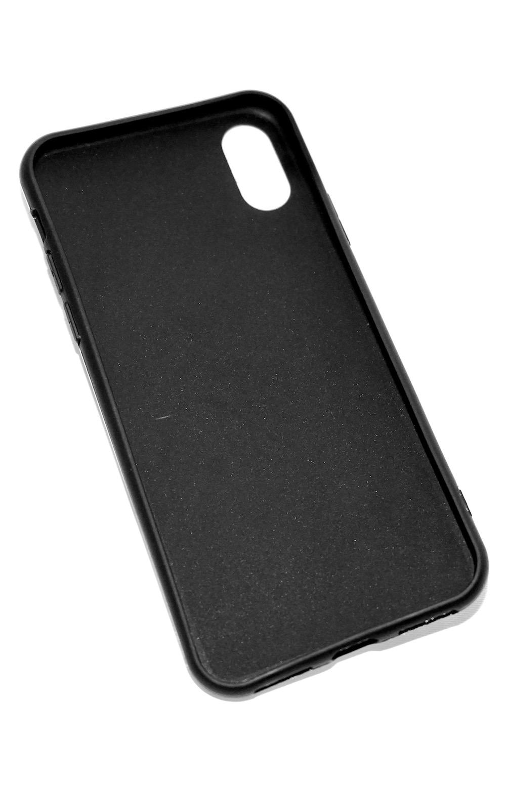 Silver Wavy Metallic Silver iPhone Case
