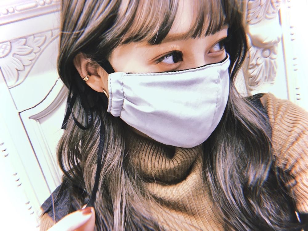 (全2色) Ribbon Design Mask