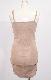 Shirring Design Cami-Onepiece (light beige)