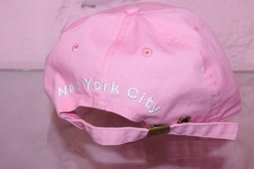 """※残り1点 """"NY"""" Embroidery Washed Cap(PNK)"""