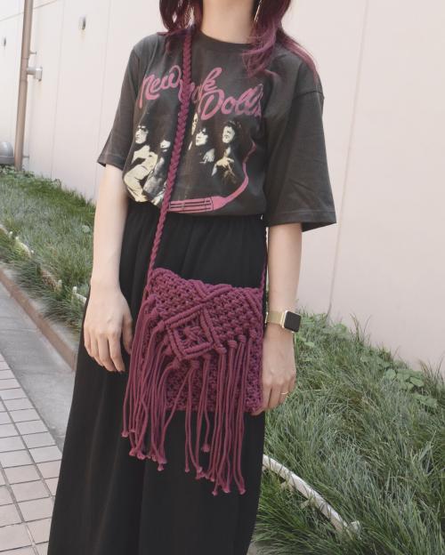 (全2色)Macrame Bag