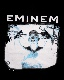 """EMINEM"" PHOTO PRINT BIG TEE(black)"