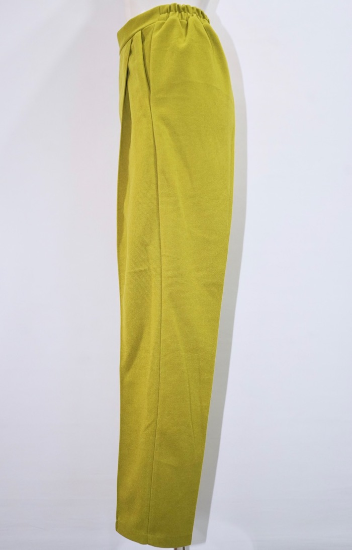 One Tuck Tapered Pants (light green)
