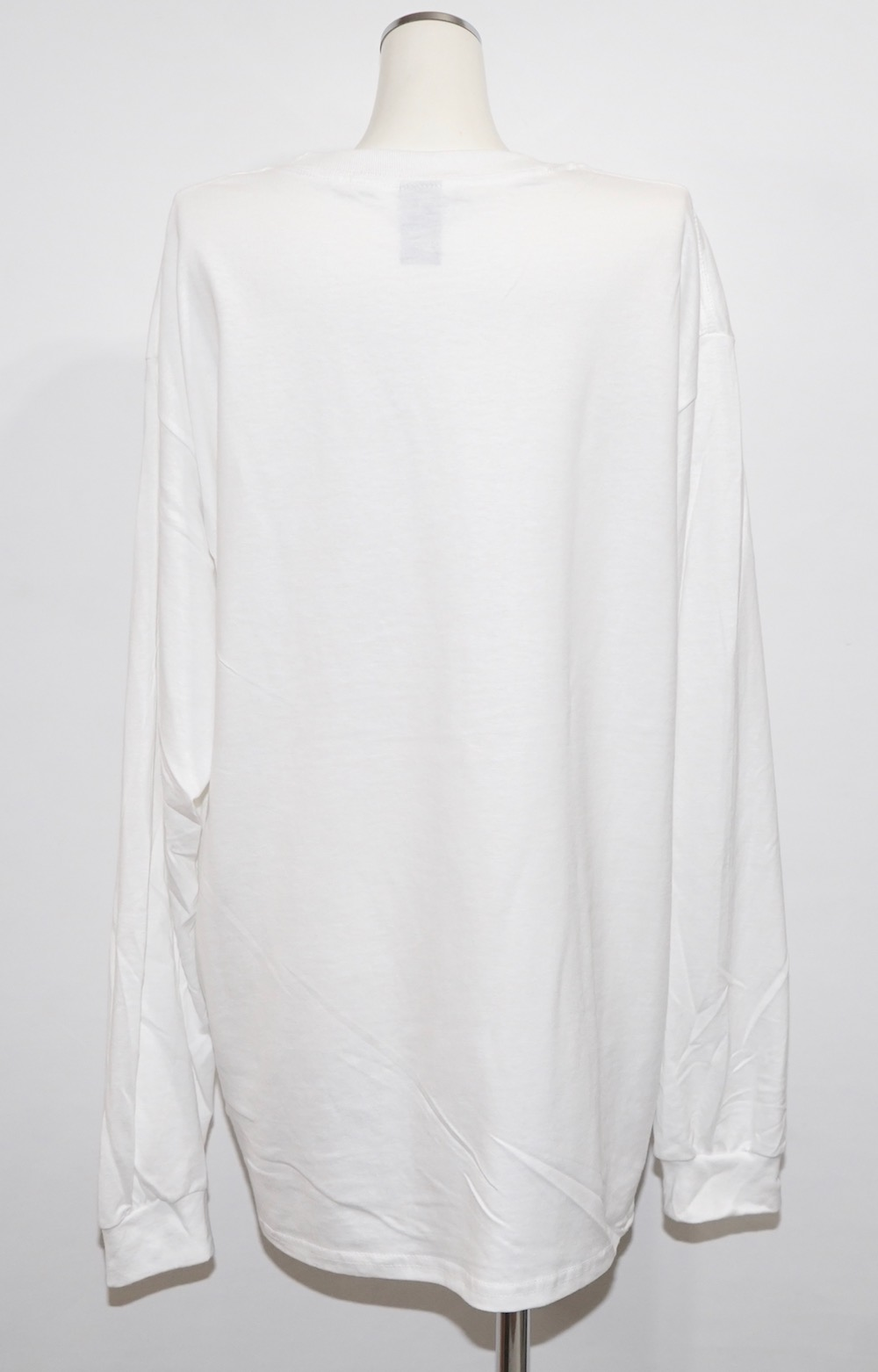 UNFINISHED Photo Big L/S TEE (white)