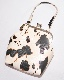 2way Strap Cow Pattern Purse Frame Bag