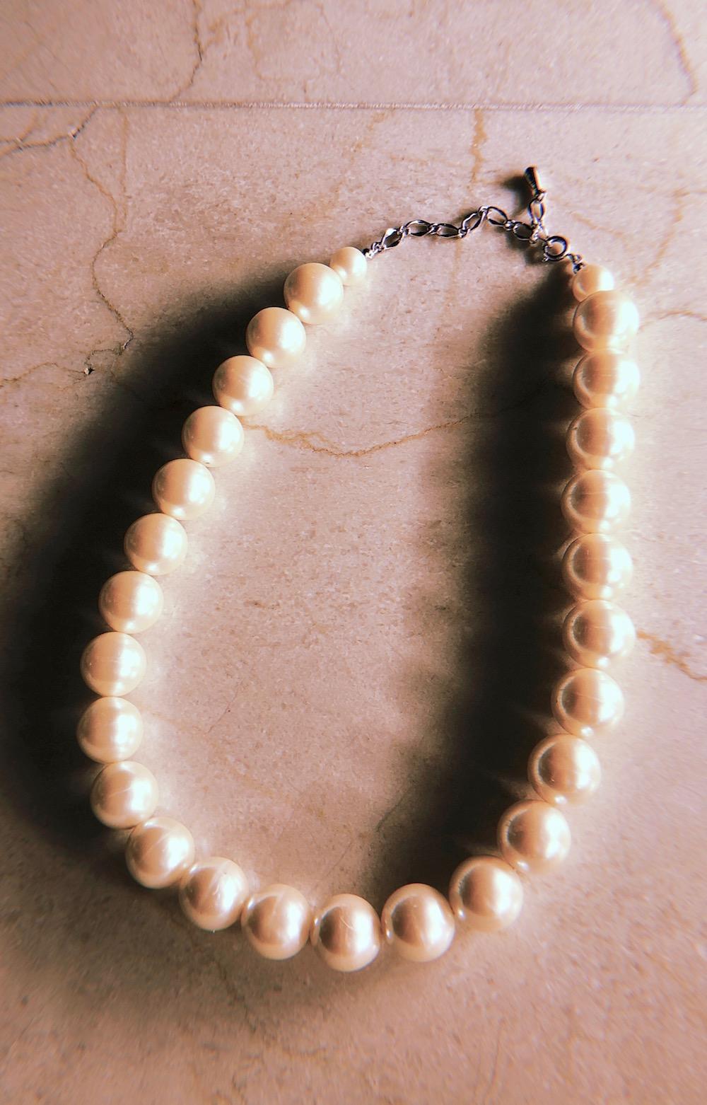 Big Pearl Necklace